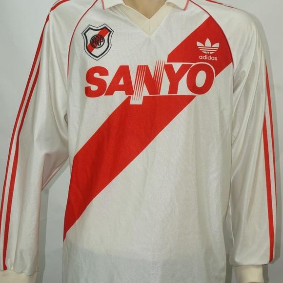9eb796377 adidas Shirts   Vintage Sanyo Arp River Plate Jersey Xl   Poshmark